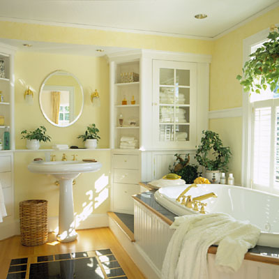 soft yellow bathroom ideas 25 Cool Yellow Bathroom Design Ideas | Freshnist
