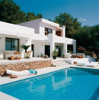 White and Modern House Design in Mykonos Island Greece ...