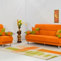 Orange Couch Living Room Ideas How To Arrange Furniture In A Large With Fireplace Decorating Using Sofa Freshnist Related Posts Design And