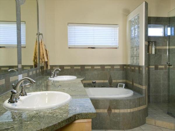navy and grey bathroom ideas