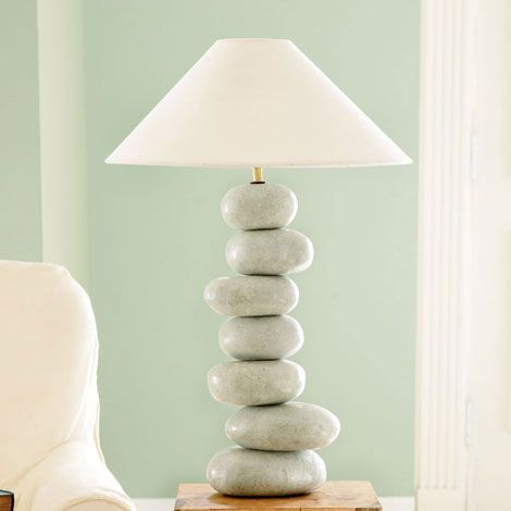 Stacked Rock Lamp