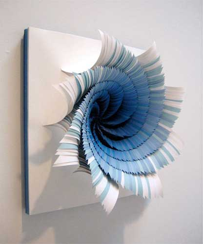 corioliseffect3 Beautiful Paper Work by Jen Stark