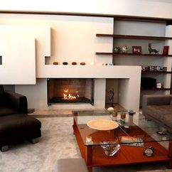 Contemporary Living Room Furniture Ideas Blue Brown Decor Interior Freshome Com Modern