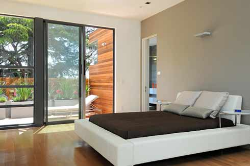 prefabricated house bedroom