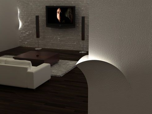 lighting walls