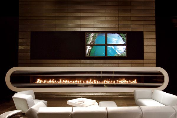 modern fireplace10 Modern Gas Fireplaces Ideas from Attika Feuer
