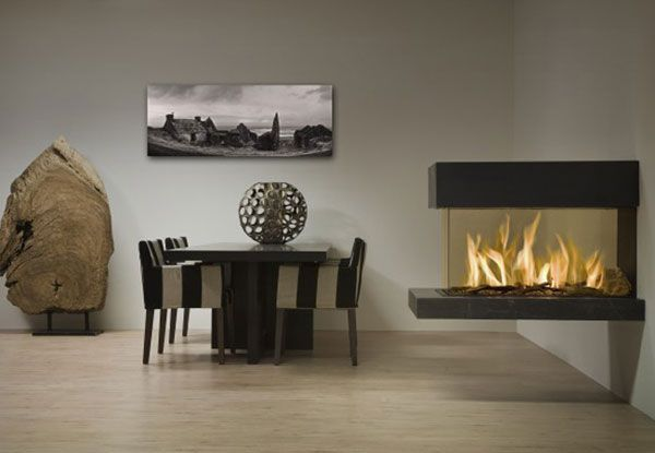 modern fireplace3 Modern Gas Fireplaces Ideas from Attika Feuer