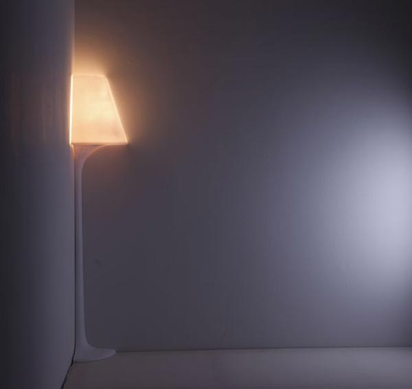 stand lights Corner Lamp by Korean Designer Ji Young Shon