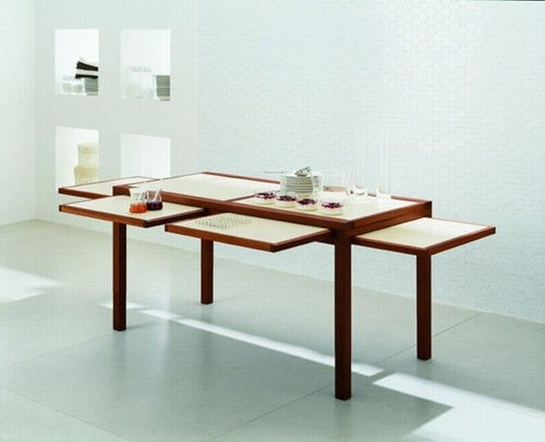 Cool expandable coffee and dining tables by Sculrtures jeux 11 Interesting Expansible Coffee Tables