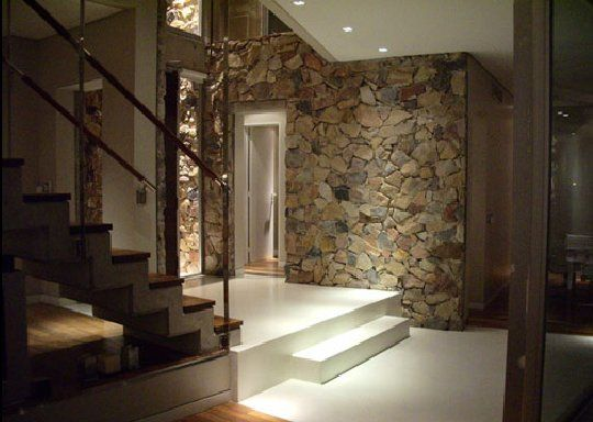 raw stone wood house 8 Raw Stone and Wood House in Buenos Aires