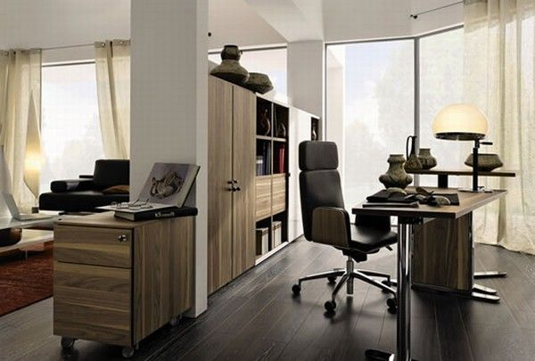 huelsta modern wood home offices 9 Home Offices Ideas from Huelsta