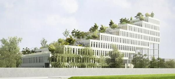 Sozawe Eco Friendly Office NL Architects1 Amazing Staircased Office Building in Groningen