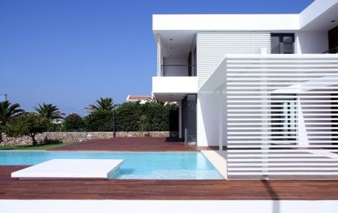 modern summer house4 Contemporary Summer House in Menorca