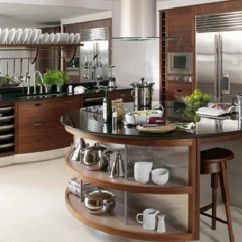 Kitchen Designs Com Used Commercial Equipment Chicago 9 Fresh Ideas For A Modern Freshome Walnut And Silver