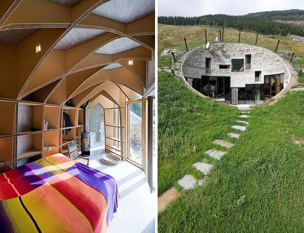 underground home designs swiss mountain house 16 Incredible Underground Residence in Switzerland