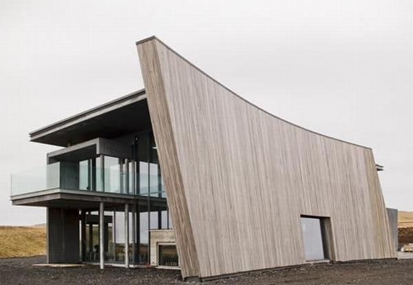 casa g iceland Countryhome in Iceland : An Architecture Plan Determined by Nature