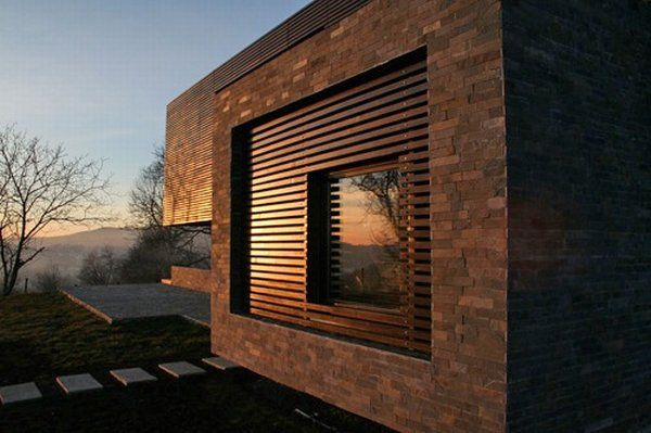 casa talea 6 Private Wooden Residence in Romania: Style and Diversity