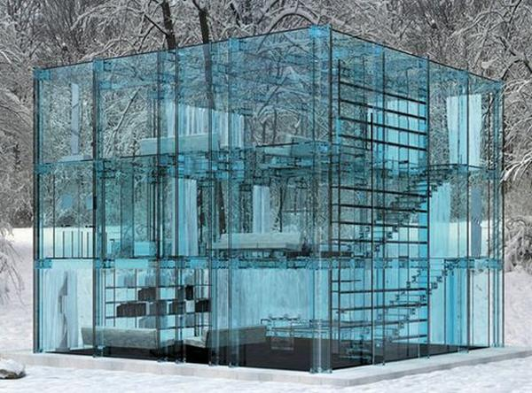 glass concept house 01 MdQKi 22976 How Do You Feel About Living in a Glass Home?
