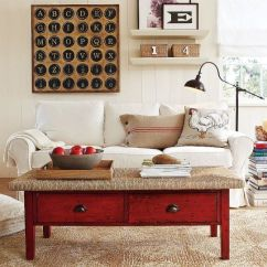 Pottery Barn Living Room Sofas Single Chairs And Rooms Ideas With A Vintage Touch From Collect This Idea