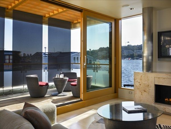 1273069906 lake union floating home 051 Contemporary Floating Home in Seattle