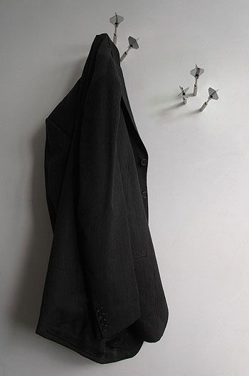 Darts coat large 25 of the Most Creative Wall Hook Designs