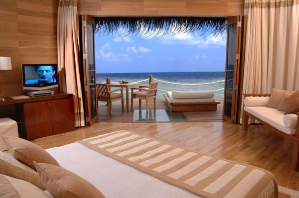 bedroom view sea 23 Amazing Bedrooms with a Panoramic View of the Ocean