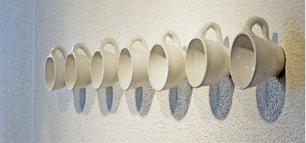 coffee cup hanger 25 of the Most Creative Wall Hook Designs