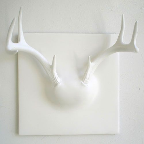 ghostantler 1 25 of the Most Creative Wall Hook Designs