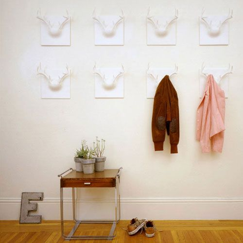 ghostantler 2 25 of the Most Creative Wall Hook Designs