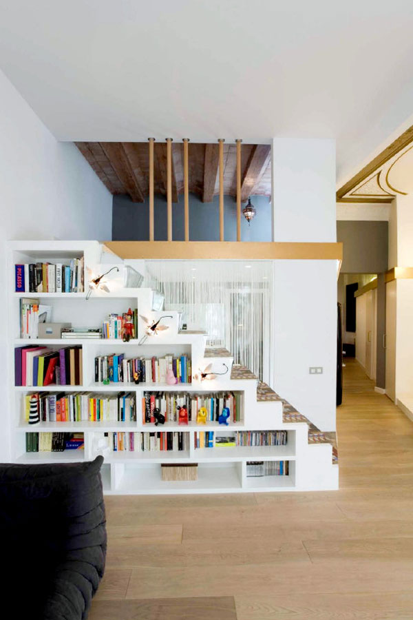 1277472691 miel santpere47 foto 04 Flat Renovation in Barcelona, Based on Strong Visual Effects