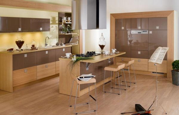 beautiful wooden kitchen 25 Modern Kitchen Designs That Will Rock Your Cooking World