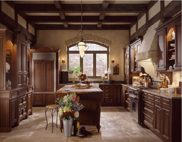 classic kitchen11 25 Inspiring and Delightful Traditional Kitchen Designs