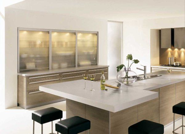 minimalist kitchen How to Add Modern Décor Touches to Your Home