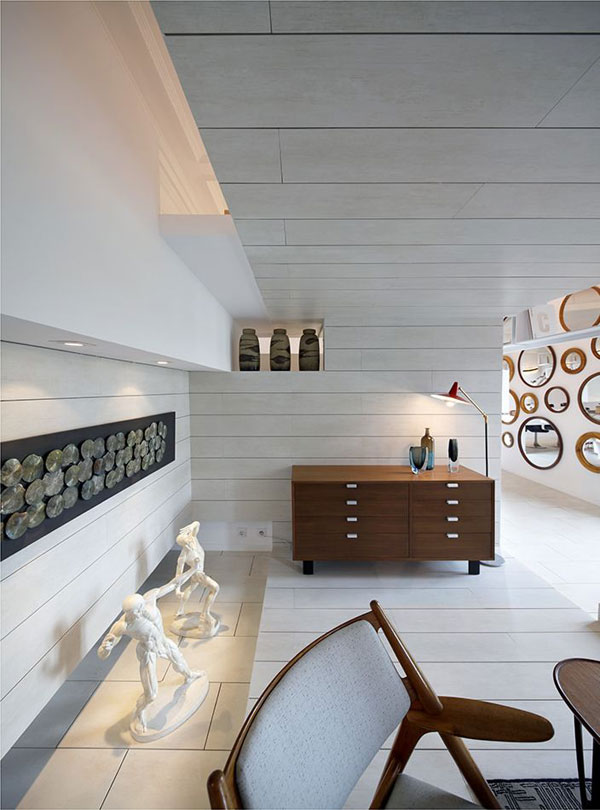 ch 300610 11 Ceramic House in Madrid with Stunning Multi Level Interiors