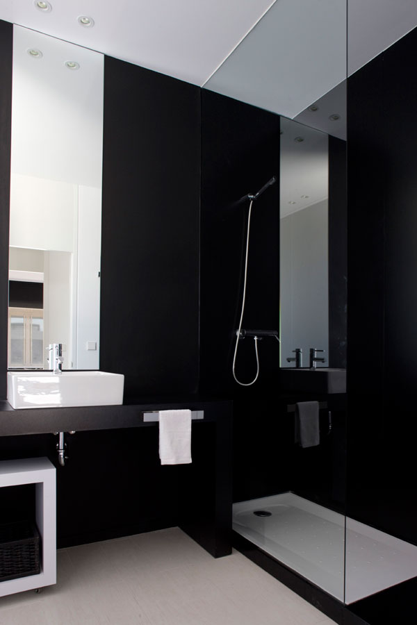 modular house bathroom design New Modular Show House by A cero in Coruña