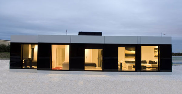 modular house glass New Modular Show House by A cero in Coruña