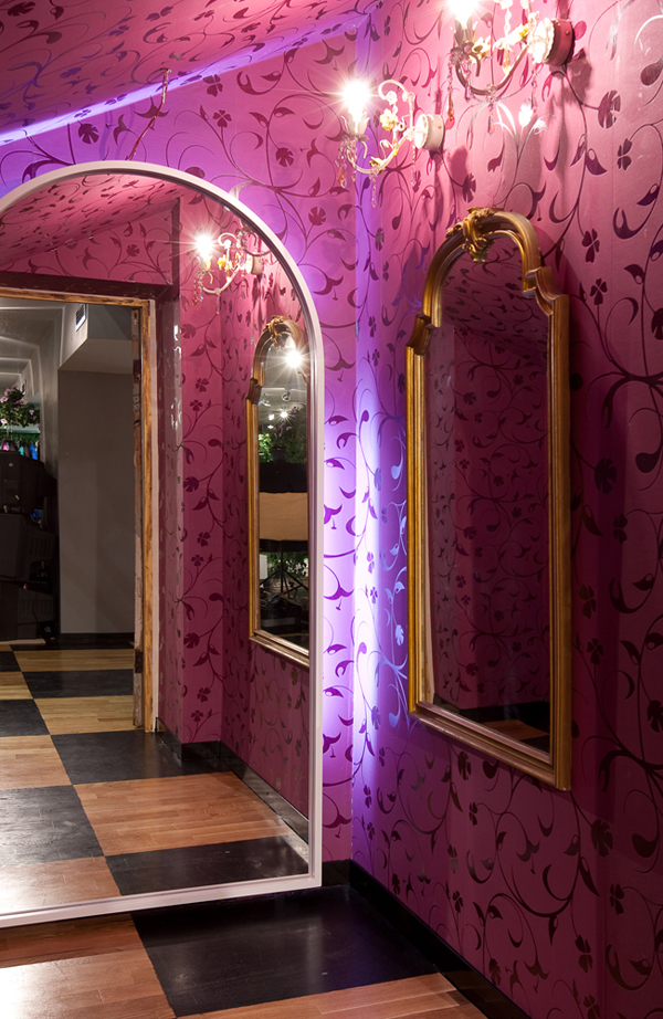 Mood Swings Apartment Store in Moscow Inspired by Alice in Wonderland