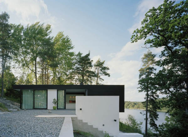 Inviting Summer Home in Sweden, an Artists' Crib