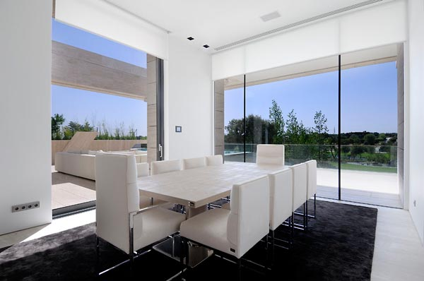 beautifu home architecture building acero archiects dining room2 Amazing House That Offers the Maximum Life Quality by A cero