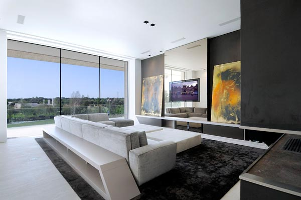 beautifu home architecture building acero archiects living room Amazing House That Offers the Maximum Life Quality by A cero