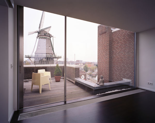 hoffman apartment34 Small Apartment with a Modern and Distinguished Interior Design