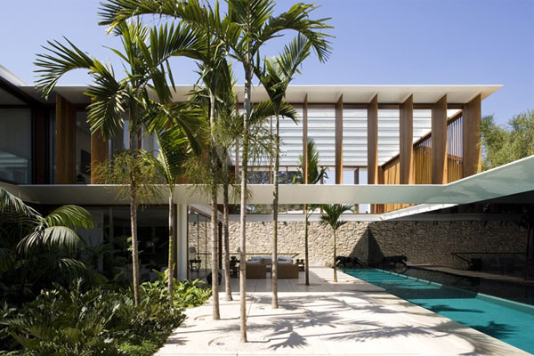 Exotic Residence and Glamorous Living in Brazil
