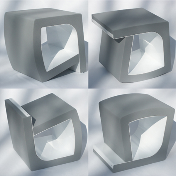 tumble image15 C Incredible Foam Chair with 4 Seating Positions