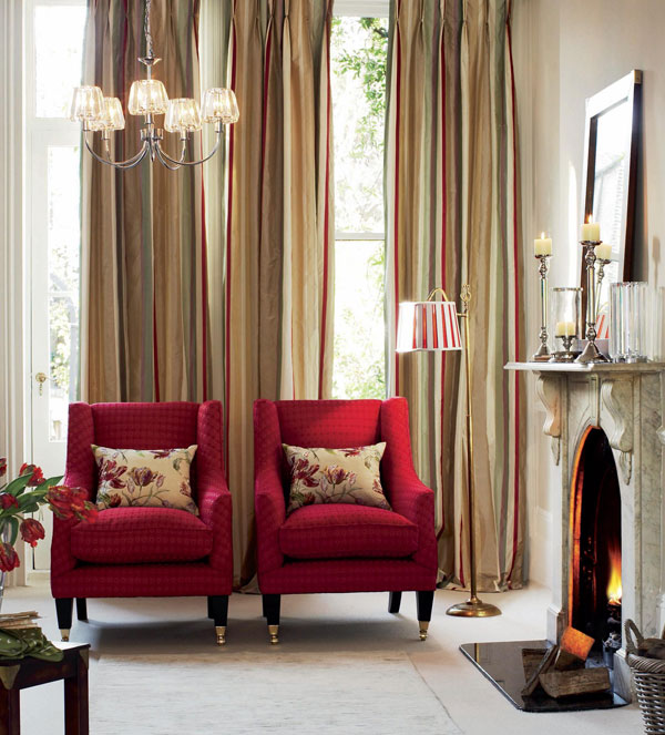 red and brown living room curtains beach decor beautiful by laura ashley for a warm personal interior
