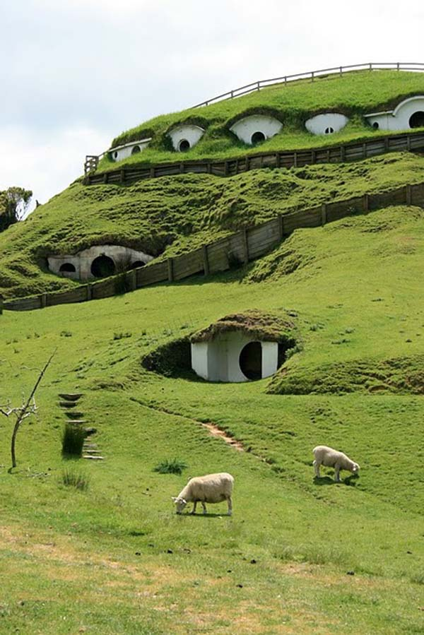 hobbit 4 Cute Lord of the Rings Hobbit Houses in New Zealand