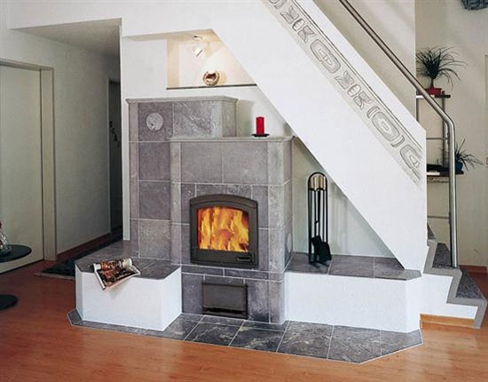 under staircase design fireplace home decor