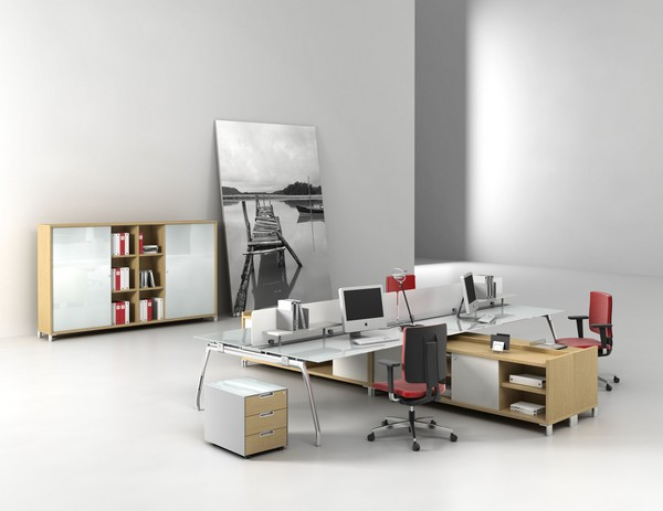 inspira 03 8 Elegant and Practical Group Work Desks for Up to date Offices