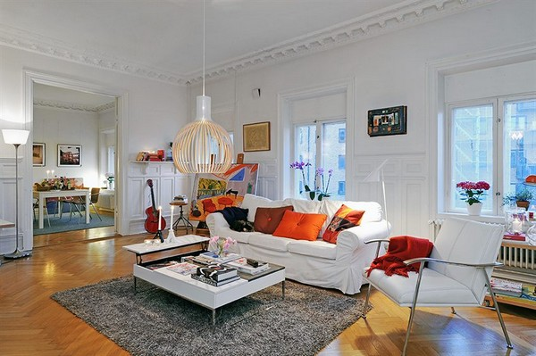 Freshome Sweeden apartment 31.jpg Get Cozy and Inspired: 10 Most Beautiful Swedish Apartaments of 2010