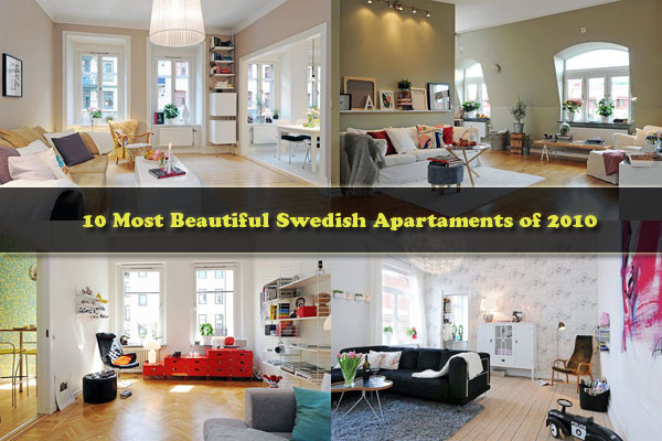 beautiful sweeish apartments Get Cozy and Inspired: 10 Most Beautiful Swedish Apartaments of 2010