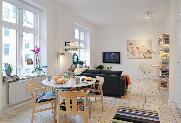 Well Planned Small Apartment with an Inviting Interior Design  Freshomecom